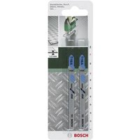 Bosch Accessories;Jigsaw blade HSS, T 118A;91 mm,2 pc(s) Saw Blade