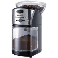 Severin KM 3874 3874 Bean grinder Black, Silver Stainless steel grinder