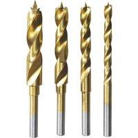 Dremel 26150636JA Wood twist drill bit set 4-piece 3 mm, 4 mm, 5 mm, 6 mm Cylinder shank 1 Set