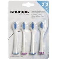 Electric Toothbrush Brush Attachments Grundig Tbb79 Medium 4 Pc(s)