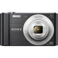 Fotokamera, Sony, »DSC-W810B Schwarz« (DSCW810B.CE3)