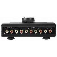 Hama Audio Switching Console AP-04 - sélecteur AV