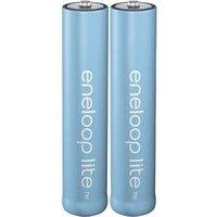 Panasonic Eneloop Lite 2x AAA 550mAh Batterie (BK-4LCCE/2BE)