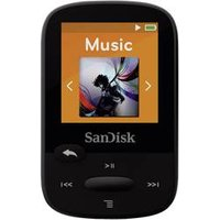 SanDisk Clip Sport MP3 Player 8GB Black (SDMX24-008G Schwarz)