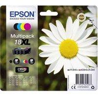 Epson C13T18164012 (18XL) Ink cartridge multi pack, 470pg 3x450pg, 1x 12ml 3x 7ml, Pack qty 4