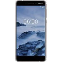 Nokia 6.1 - Smartphone (5.5 ´´, 32 GB, Blanc/fer)