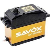 Savöx Spezial-Servo SV-0236MG Digital-Servo Getriebe-Material Metall Stecksystem JR