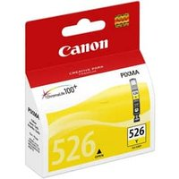 Canon CLI-526Y Inkjet Cartridge Page Life 202pp 9ml Yellow Ref
