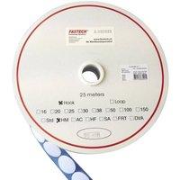 FASTECH® T01035000003C1 Klettpunkt zum Aufkleben Hotmelt Haftteil (Ø) 35mm Weiß