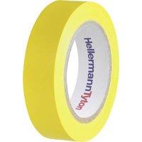 HellermannTyton HelaTape Flex 15 710-00102 Isolierband HelaTape Flex 15 Gelb (L x B) 10m x 15mm