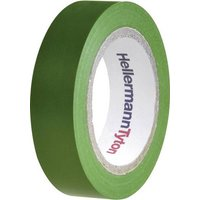 HellermannTyton HelaTape Flex 15 710-00103 Isolierband HelaTape Flex 15 Grün (L x B) 10m x 15mm