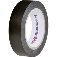 HellermannTyton HelaTape Flex 15 710-00104 Isolierband HelaTape Flex 15 Schwarz (L x B) 10m x 15mm
