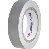 HellermannTyton HelaTape Flex 15 710-00108 Isolierband HelaTape Flex 15 Grau (L x B) 10m x 15mm