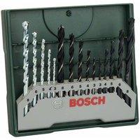 Bosch Accessories 2607019675 X-Line 15teilig Universal-Bohrersortiment