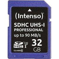 Intenso Professional SDHC-Karte 32GB Class 10, UHS-I