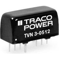 TracoPower TVN 3-4822 DC/DC-Wandler, Print 48 V/DC 125mA 3W Anzahl Ausgänge: 2 x