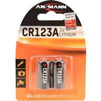 Ansmann CR17335 Fotobatterie CR-123A Lithium 1375 mAh 3V 2St.