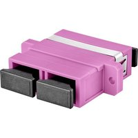 Renkforce RF-4538306 LWL-Steckverbinder Violett