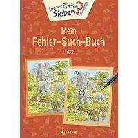 Loewe Verlag Die verflixten Sieben - Mein Fehler-Such-Buch - Tiere 74320165