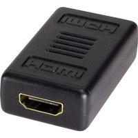LogiLink AH0006 HDMI Adapter [1x HDMI-Buchse - 1x HDMI-Buchse] Schwarz
