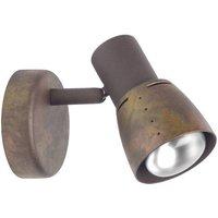 Brilliant Lava 39510/56 Wandstrahler E14 40W LED Kupfer
