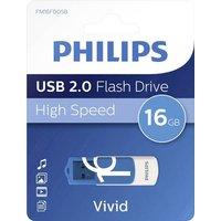 Philips VIVID USB-Stick 16GB Blau FM16FD05B/00 USB 2.0