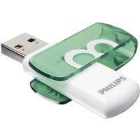 Philips VIVID USB-Stick 8GB Grün FM08FD05B/00 USB 2.0