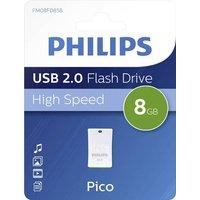 Philips PICO USB-Stick 8GB Grün FM08FD85B/00 USB 2.0