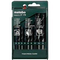 Metabo 627179000 Metall-Spiralbohrer-Set 9teilig 1St.
