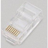 BKL Electronic Modular-Stecker, 8P8C für Flachkabel 143043