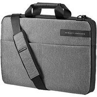 HP Notebook Tasche Signature Slim Toploader Passend für maximal: 39,6cm (15,6 ) Grau, Schwarz