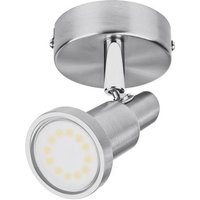 LEDVANCE LED Spot (EU) L 4058075260801 Deckenstrahler LED GU10 3W Nickel (gebürstet)