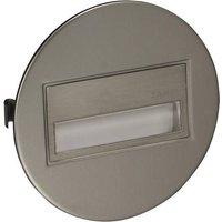 Zamel Sona 13-211-22 LED-Wandeinbauleuchte 0.42W Warmweiß Stahl