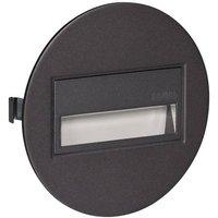 Zamel Sona 13-211-32 LED-Wandeinbauleuchte 0.42W Warmweiß Graphit
