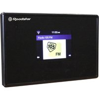 Roadstar Internet Radio-Adapter Internet AUX, Bluetooth®, WLAN Schwarz