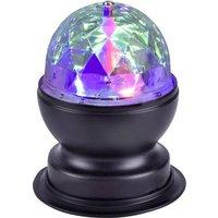 LeuchtenDirekt DISCO 98035-18 LED-Tischlampe Schwarz