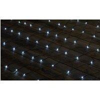 Sygonix Weihnachtsbaum-Beleuchtung Außen 230 V/50Hz 200 LED Kaltweiß (L x B) 300cm x 200cm