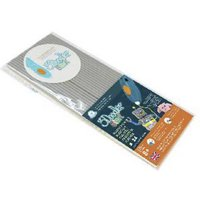 3Doodler 3DS-ECO08-GREY-24 Koala Gray Filament-Paket Elastic 1.75mm 27g Grau 24St.