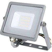 V-TAC VT-20 GR 6400K 447 LED-Flutlichtstrahler 20W Kaltweiß