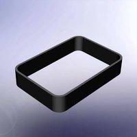 TEKO Rahmen TPU Lichtgrau (L x B x H) 80 x 56 x 15mm
