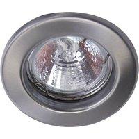 Heitronic 23550 DL5701 Einbauleuchte LED GU5.3 35W Edelstahl (gebürstet)