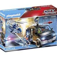 Playmobil® City Action Polizei-Helikopter: Verfolgung des Fluchtfahrzeugs 70575
