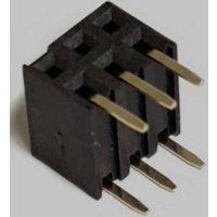BKL Electronic Buchsenleiste (Standard) Anzahl Reihen: 2 Polzahl je Reihe: 3 10122241 Tube