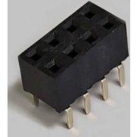 BKL Electronic Buchsenleiste (Standard) Anzahl Reihen: 2 Polzahl je Reihe: 4 10122223 Tube