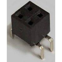 BKL Electronic Buchsenleiste (Standard) Anzahl Reihen: 2 Polzahl je Reihe: 2 10122228 Tube