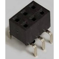 BKL Electronic Buchsenleiste (Standard) Anzahl Reihen: 2 Polzahl je Reihe: 3 10122229 Tube