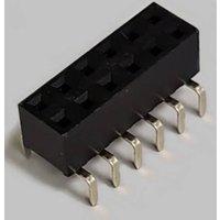 BKL Electronic Buchsenleiste (Standard) Anzahl Reihen: 2 Polzahl je Reihe: 6 10122230 Tube
