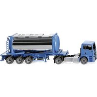 Wiking 053605 H0 MAN TGS Tankcontainersattelzug Swap