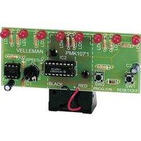 Velleman MK107 Lauflicht Bausatz Ausführung (Bausatz/Baustein): Bausatz 9 V/DC