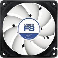 Arctic F8 PC-Gehäuse-Lüfter Schwarz, Weiß (B x H x T) 80 x 80 x 25mm